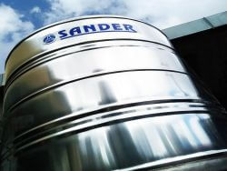 Caixa d'água de aço inox Sander - 2