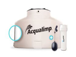 Distribuidor de caixa d'água de polietileno Acqualimp - 2